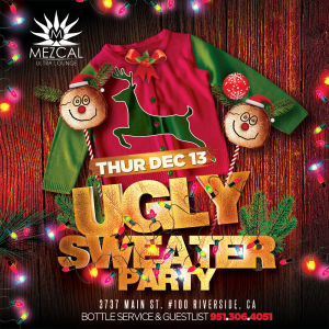 Ugly Sweater Party, Thursday, December 13th, 2018