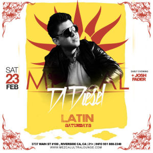 Latin Saturdays - Mezcal Ultra Lounge