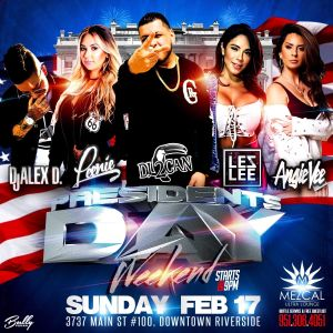 President's Day Weekend - Mezcal Ultra Lounge