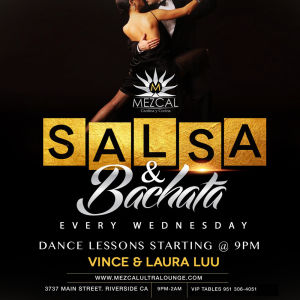 Salsa & Bachata, Wednesday, May 22nd, 2019