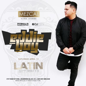 Latin Saturday, Saturday, April 13th, 2019