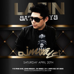 Latin Saturday, Saturday, April 20th, 2019