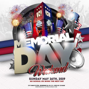 Memorial Day Weekend - Mezcal Ultra Lounge