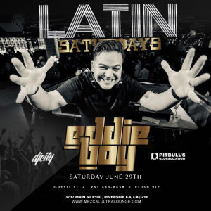 Latin Saturday, Saturday, June 29th, 2019