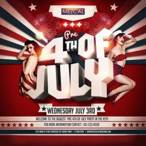 4th of July Celebration - Mezcal Ultra Lounge