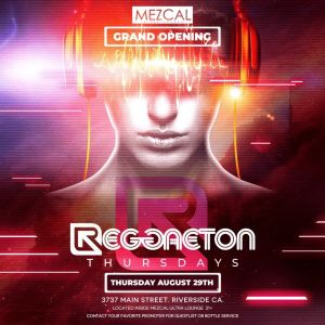 Reggaeton Thursday, Thursday, August 29th, 2019