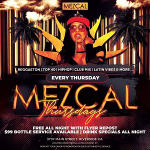 Reggaeton Thursday - Mezcal Ultra Lounge