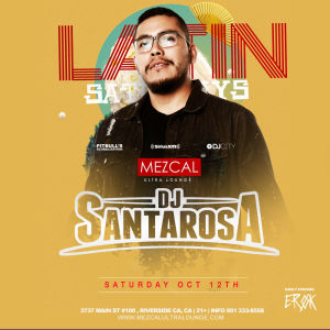 Latin Saturday, Saturday, October 12th, 2019