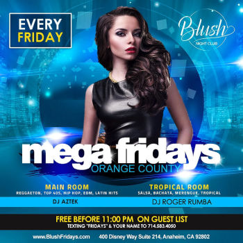 BLUSH Fridays - Fri Dec 20