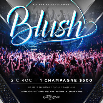 BLUSH Saturdays - Sat Jan 4