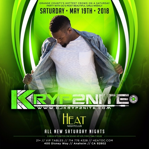 HEAT Saturdays W/ Everyone In Free W/ RSVP - Heat Ultra Lounge