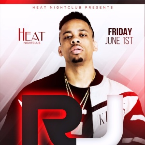 RJ LIVE THIS FRIDAY W/ EVERYONE IN FREE W/ RSVP