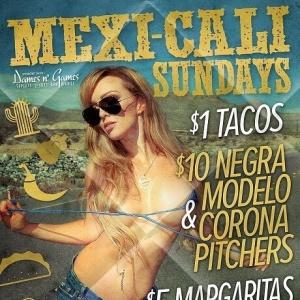 Mexi-Cali Sundays