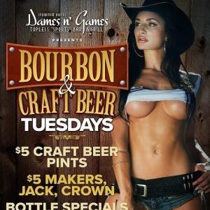 Bourbon & Craft Beer Tuesdays