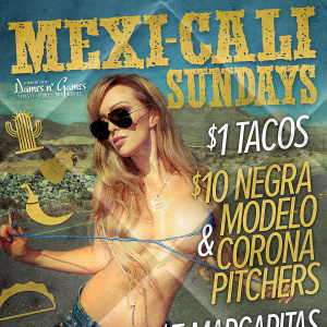 Mexi-Cali Sundays, Sunday, September 23rd, 2018