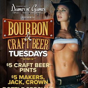 Bourbon & Craft Beer Tuesdays, Tuesday, September 25th, 2018