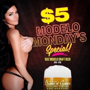 Modelo Monday's, Monday, October 8th, 2018