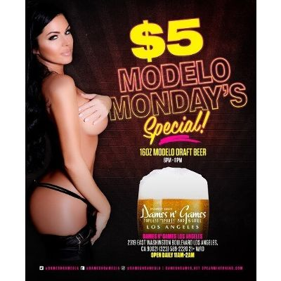 Modelo Monday's, Monday, October 15th, 2018