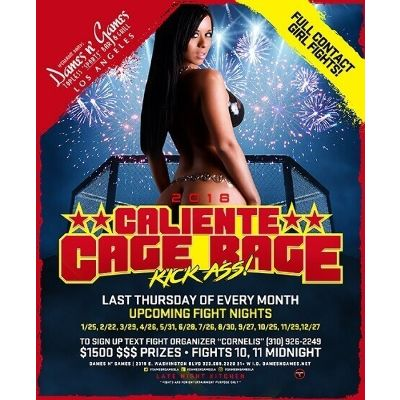Caliente Cage Rage, Thursday, September 27th, 2018