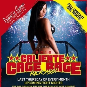 Caliente Cage Rage, Thursday, October 25th, 2018