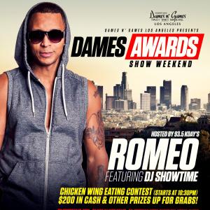DAMES AWARDS SHOW WEEKEND