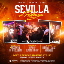 Sevilla Fridays | # Rooms of Entertainment