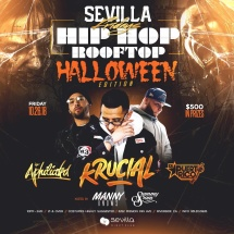 Sevilla Fridays (Halloween Edition)