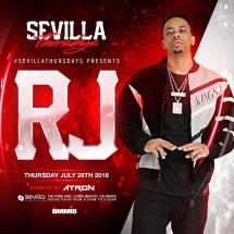 RJ Live @ Sevilla Thursdays