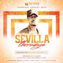Sevilla Thursdays