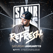 Sold out Saturdays W/ Dj Refresh SD