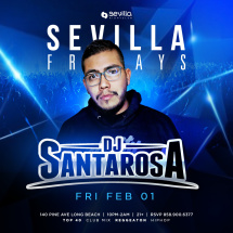 Sevilla Friday with Dj Santa Rosa