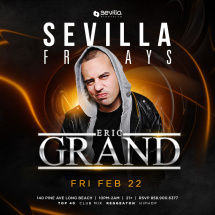 Sevilla Friday with Dj EricGrand