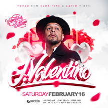 #SevillaSaturdays presents: Valentino on Valentines Edition. ( ClubKillers )