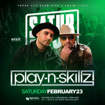 #SevillaSaturday presents: PlaynSkillz Live! ( SkamArtist )