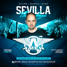 Sevilla Thursdays presents DJ AMEN (YoungCalifornia)