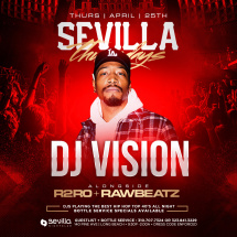 #1 THURSDAY NIGHT'S OF SOCAL WITH THE BEST DJ ROTATION ( DJ VISION )