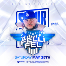 #SoldOutSaturdays Presents Dj FelliFel (SkamArtist)