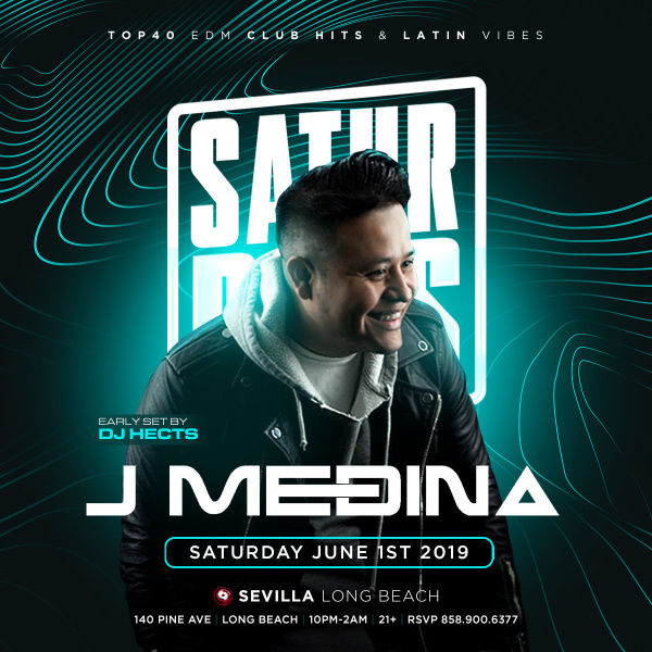 Saturday Nights for the grown and sexy with DJ JMedina ( DJCITY