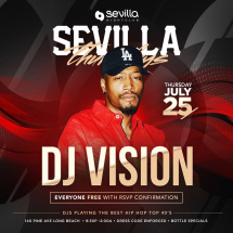 Sevilla Thursdays Presents: DJ VISION