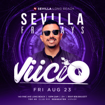 SEVILLA FRIDAYS with DJ VIICIO | Party Destination