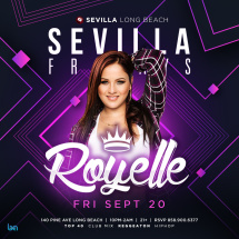 SEVILLA FRIDAYS with DJ ROYELLE | The sexiest DJ of LA