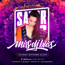 SEXY SATURDAYS with MISS DJ BLISS | Celebrate with style