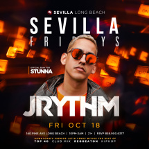 SEVILLA FRIDAYS with DJ J-RYTHM