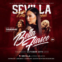 THE NEW NEW THURSDAY NIGHTS WITH DJ BELLA FIASCO | HIP-HOP & CLUB HITS