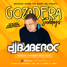 Gozadera Sundays - Your Caliente with DJ BABEROC