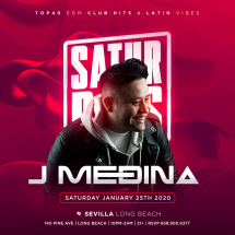 SATURDAY NIGHTS FOR THE GROWN AND SEXY WITH DJ MEDINA