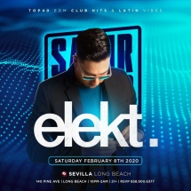 SATURDAY NIGHTS FOR THE GROWN AND SEXY WITH DJ ELEKT