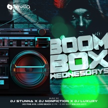 BOOM BOX - 90S & HIP HOP THROWBACKS ALL NIGHT