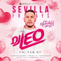 VALENTINE'S CELEBRATIONS WITH DJ LEO - DROPPING ALL THE REGGAETON AND HIP HOP HITS