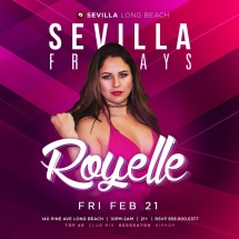 BAILA FRIDAYS WITH DJ ROYELLE DROPPING ALL THE REGGAETON AND HIP HOP HITS